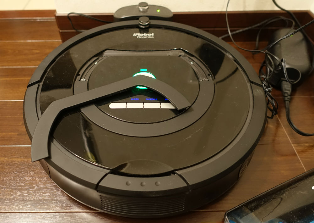 Roomba770 ハンドル 破損