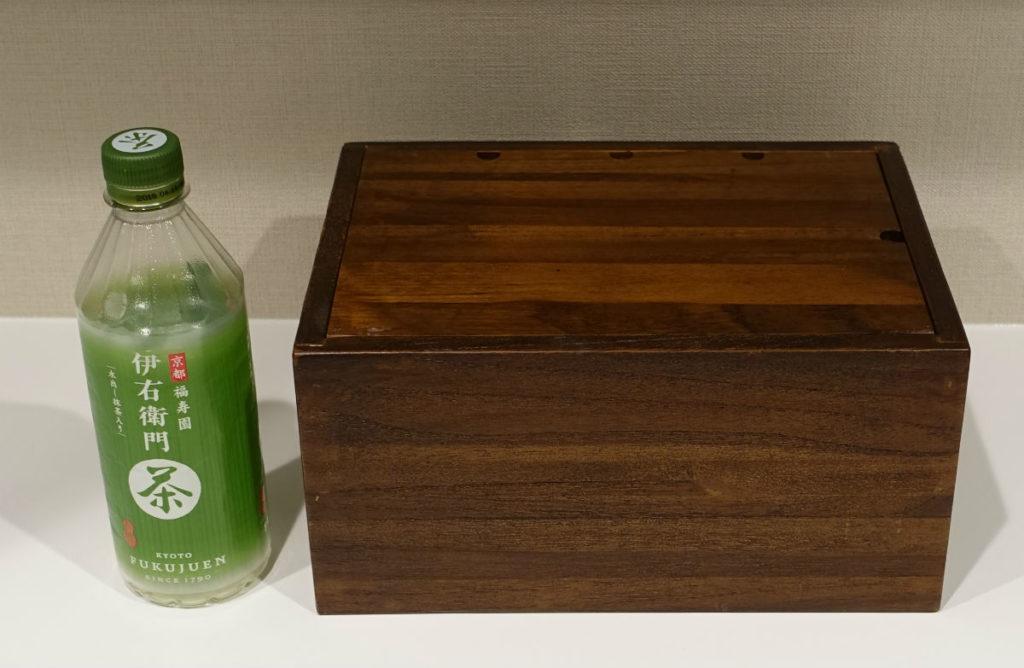 木製ケーブルボックス サイズ感