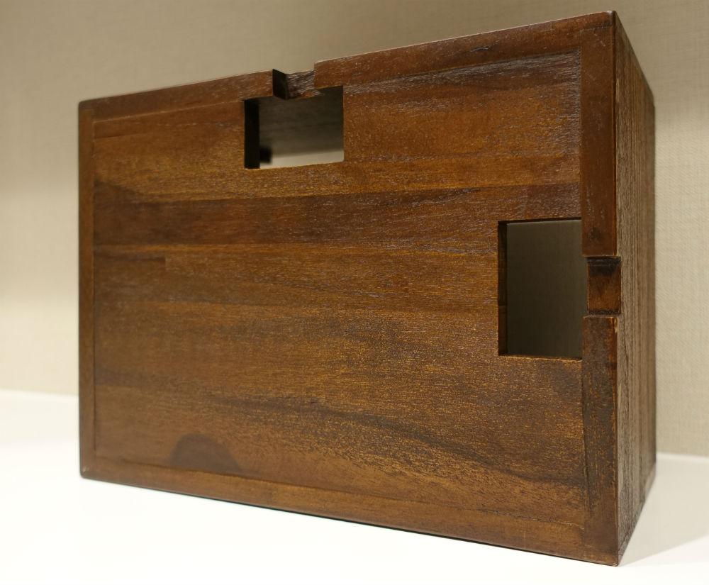 木製ケーブルボックス 底面