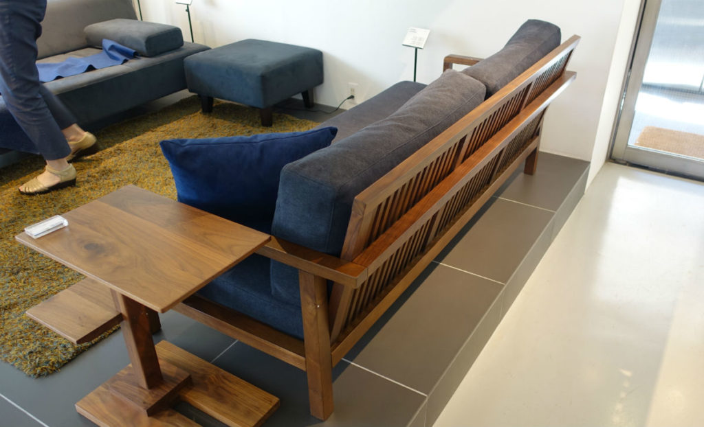 FLANNEL sofa STRAND WN 斜めから