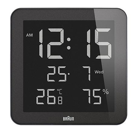 BRAUN Clock LCD