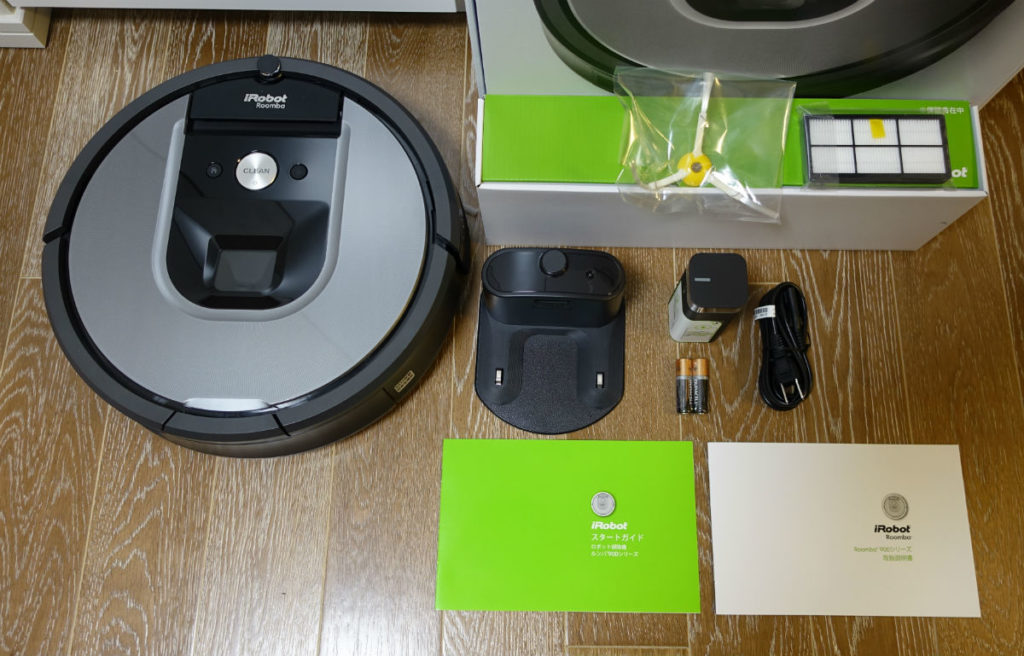 Roomba960 本体と付属品一式
