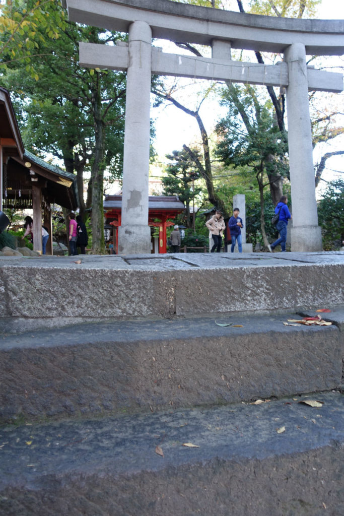 愛宕神社 出世の石段 登頂