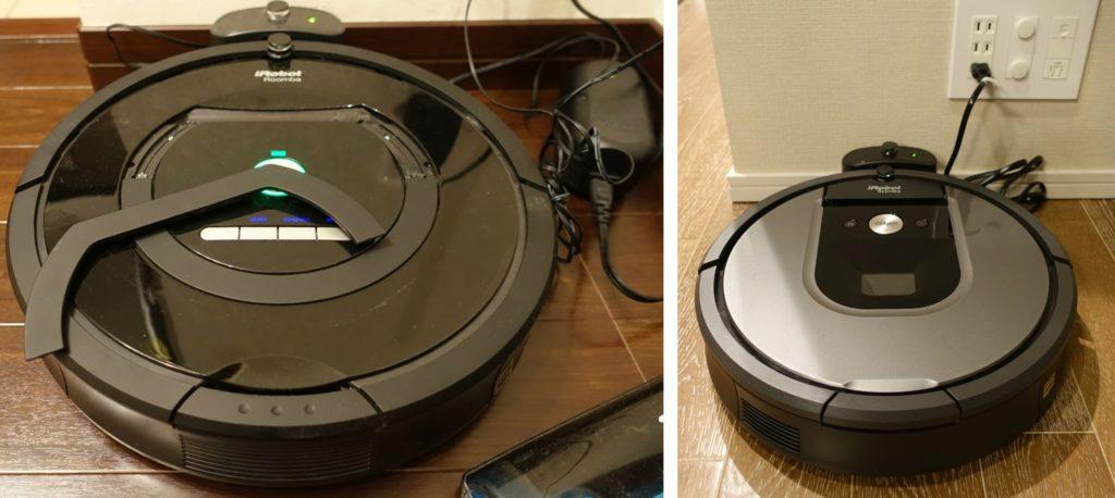 Roomba 770 vs 960 ACアダプタがなくなってすっきり