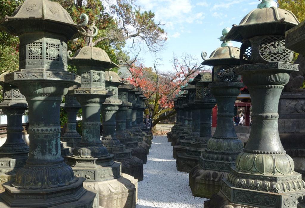 上野東照宮 銅灯篭