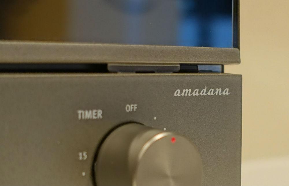 Amadana 縦型オーブンATT-T11-S タイマーダイヤル