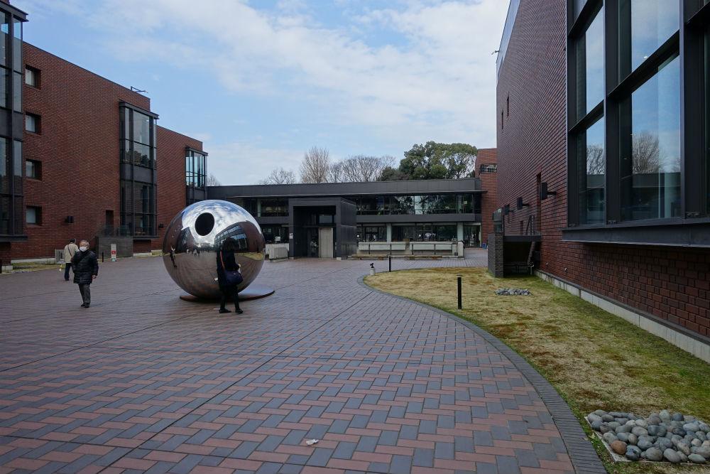 東京都美術館 屋外のオブジェ