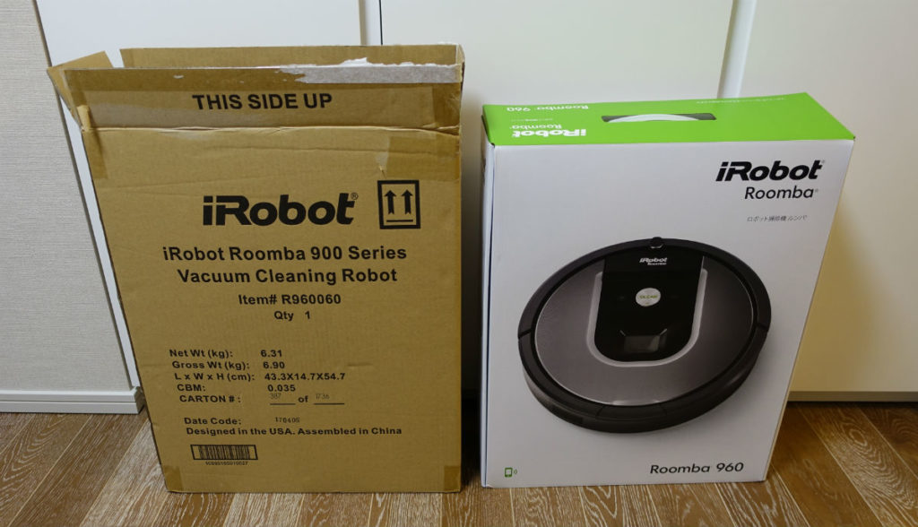 Roomba960 package