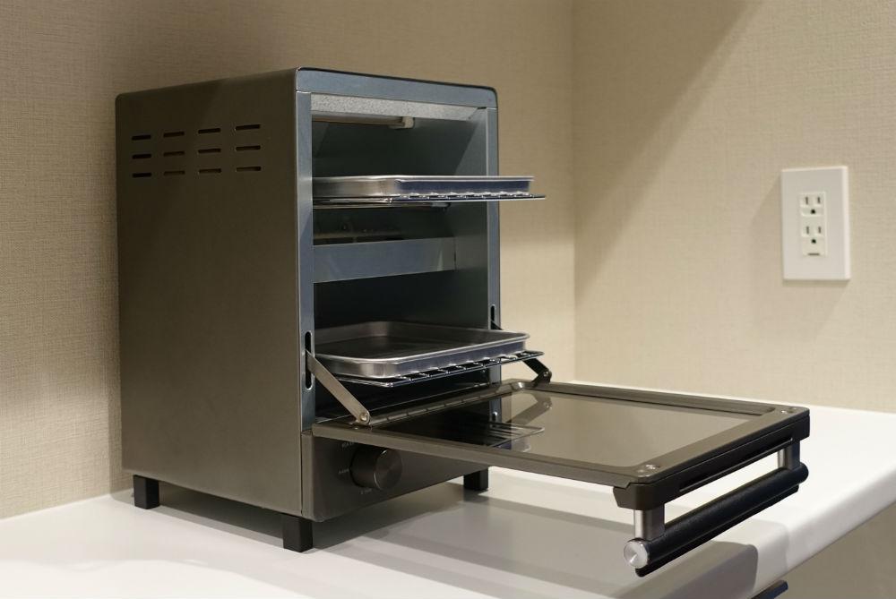 Amadana 縦型オーブンATT-T11-S ドアオープン