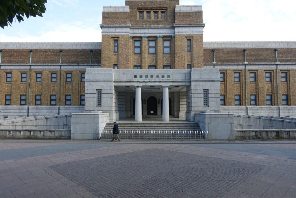 上野恩賜公園 国立科学博物館正面