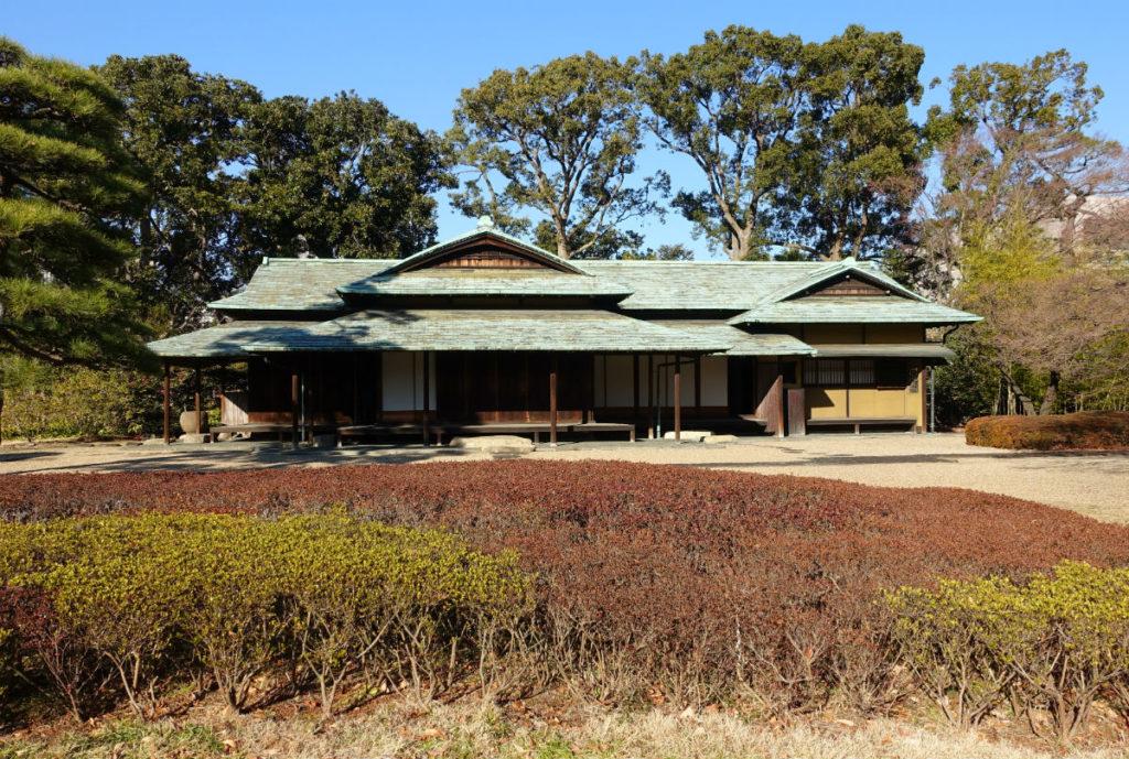 皇居東御苑 二の丸 諏訪茶屋