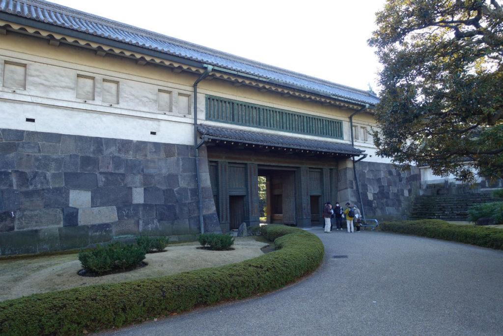 皇居東御苑 平川門 外側から