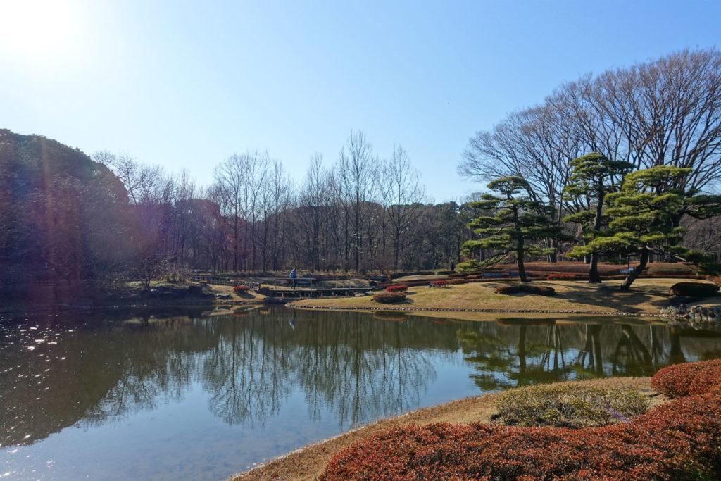 皇居東御苑 二の丸池