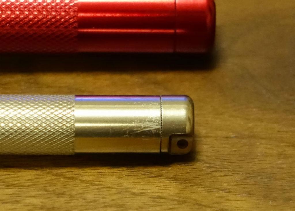 MINI MAGLITE LED AAA 電球版のテール部分