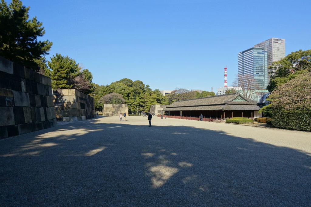 皇居東御苑 二の丸 百人番所