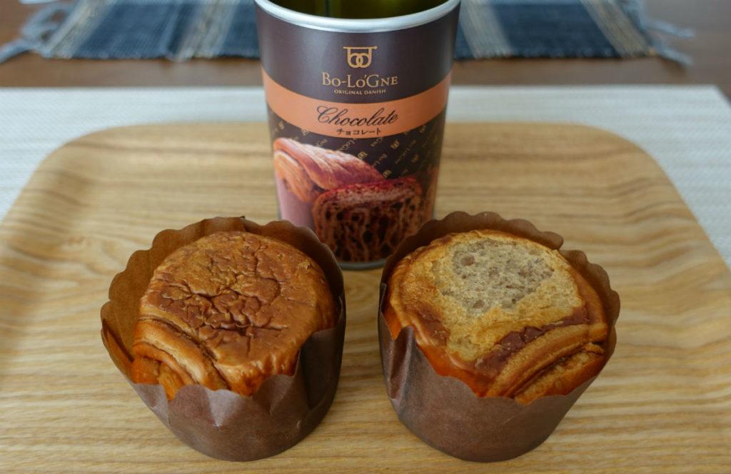 缶 de ボローニャ チョコレート味 2ヶ
