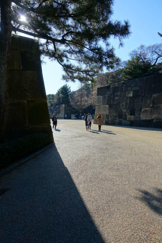 皇居東御苑 二の丸百人番所前