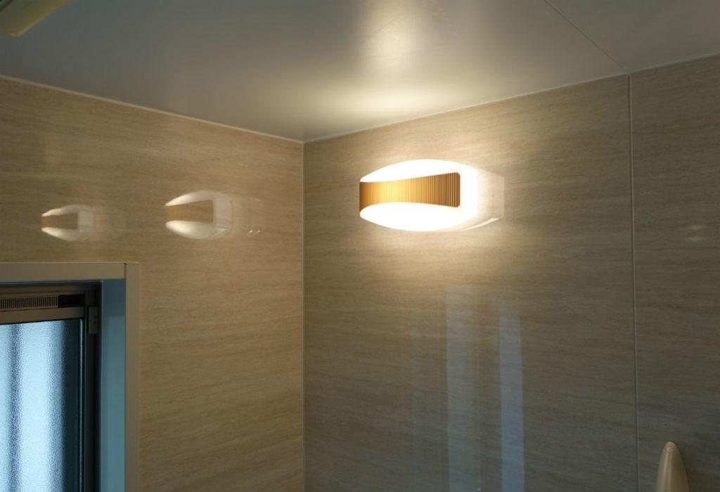 旧宅バスルーム 照明