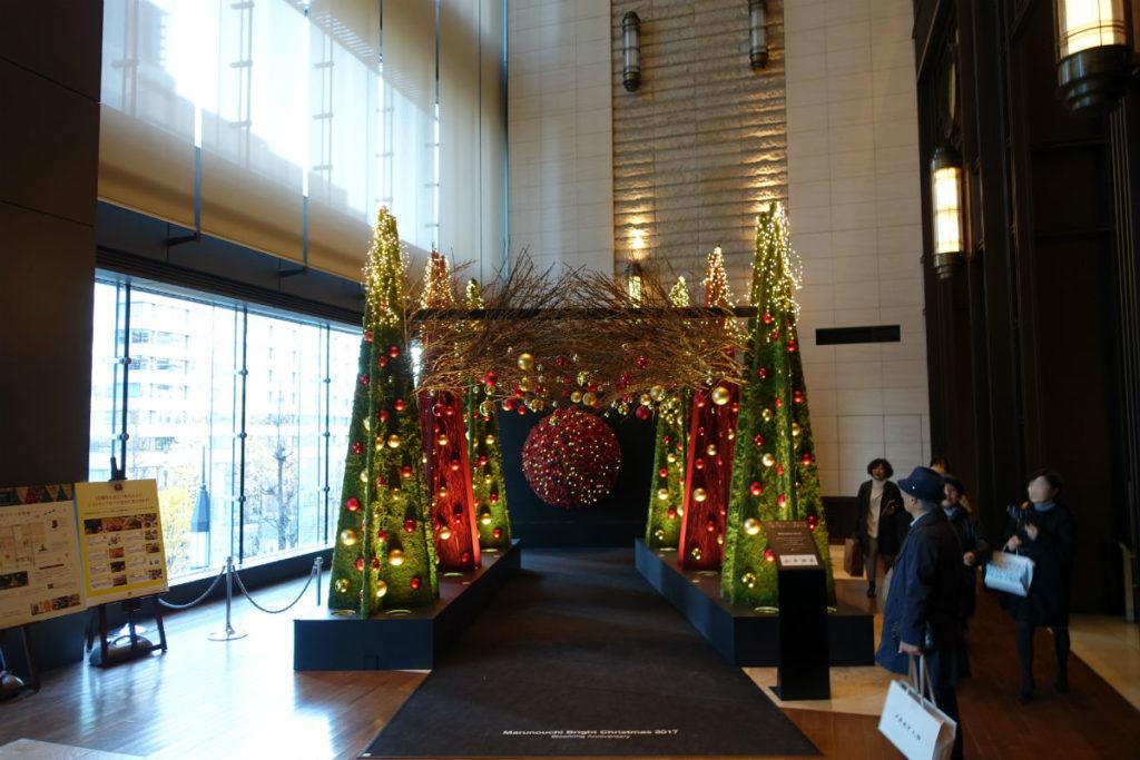 丸ビル クリスマスツリー