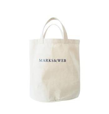 MARKS&WEB キャンバス地 ランドリーバッグ