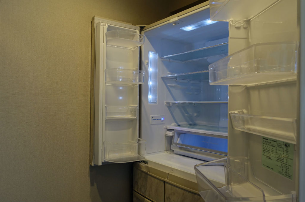 panasonic コーディネートドア冷蔵庫 冷蔵室は両開き