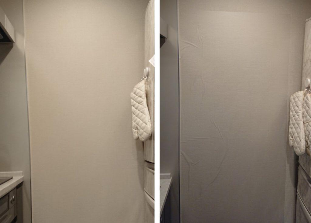 リンテックコマース 壁保護シート Before after
