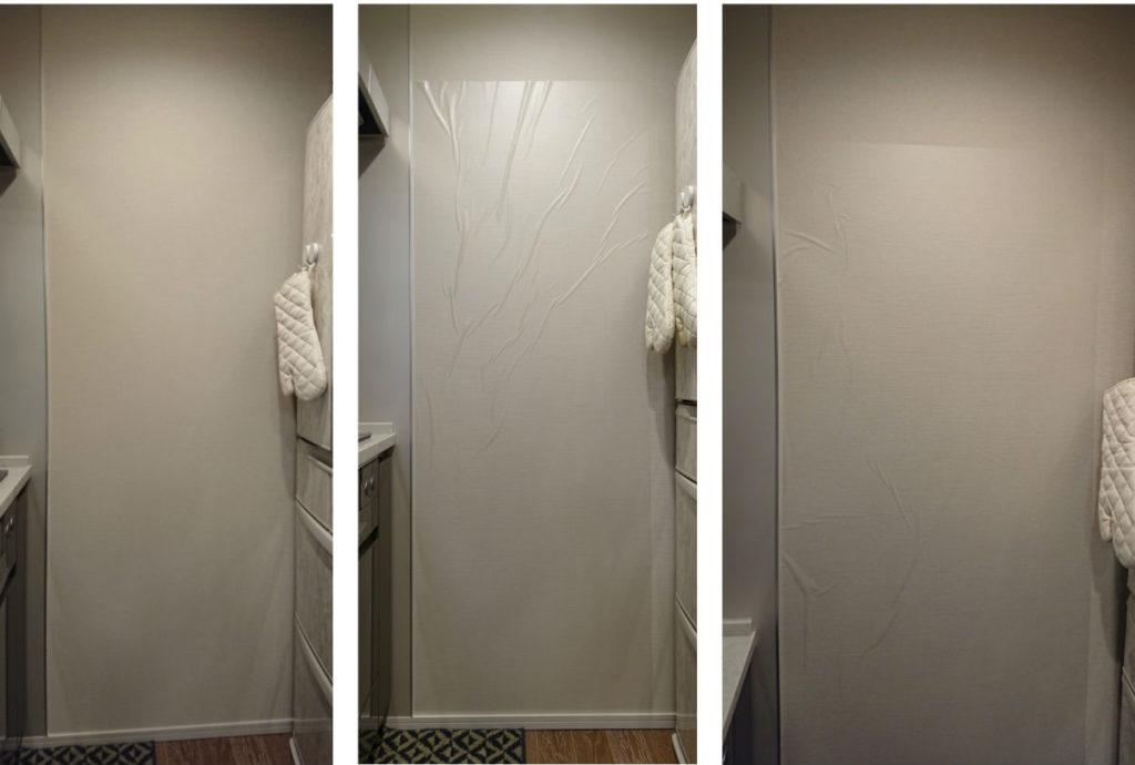 リンテックコマース 壁保護シート 実際の貼付