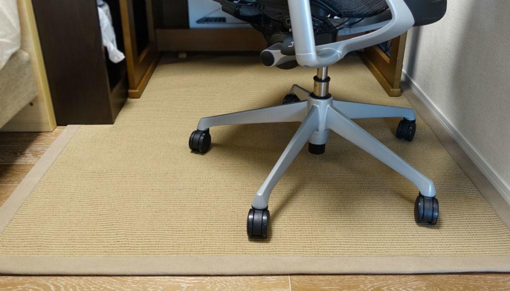 東リ 平織りII 机 椅子とセット