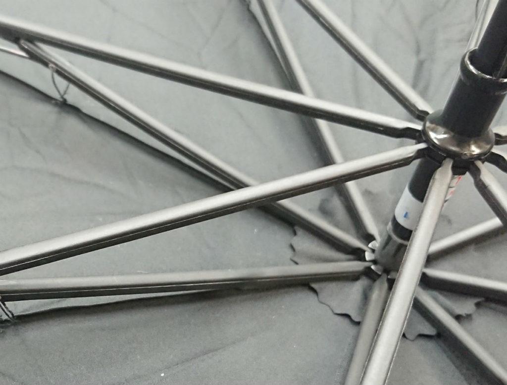 折り畳み傘 親骨