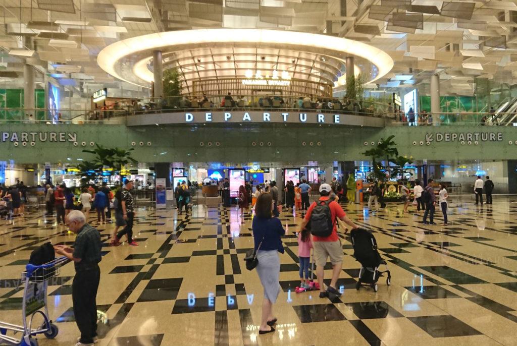 シンガポールチャンギ空港 ターミナル3 出国審査