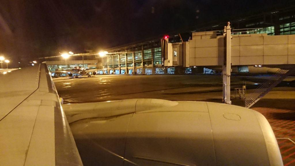 シンガポールチャンギ空港 出発