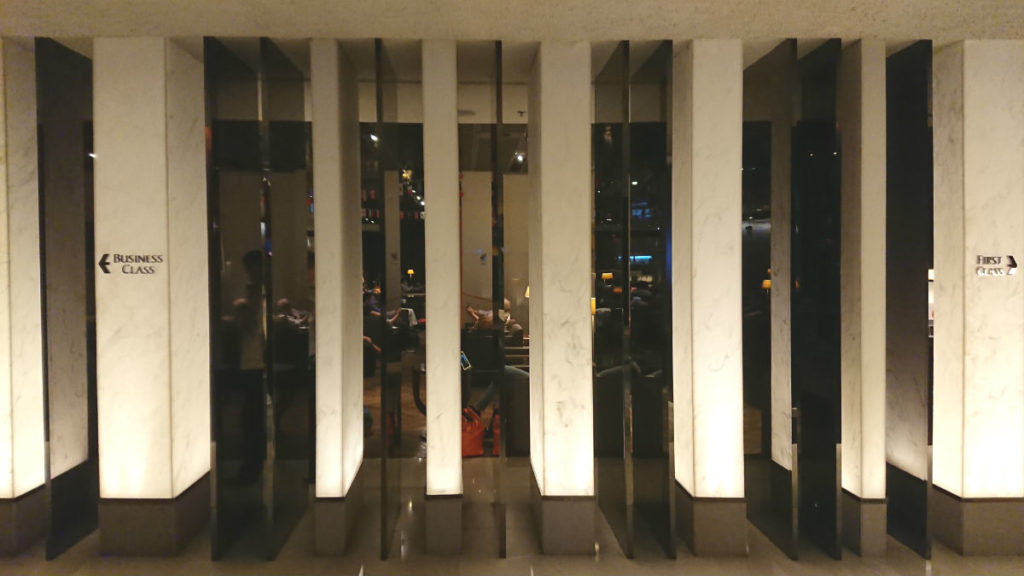 シンガポールチャンギ空港 ターミナル3 シルバークリス ラウンジ ビジネスとファースト