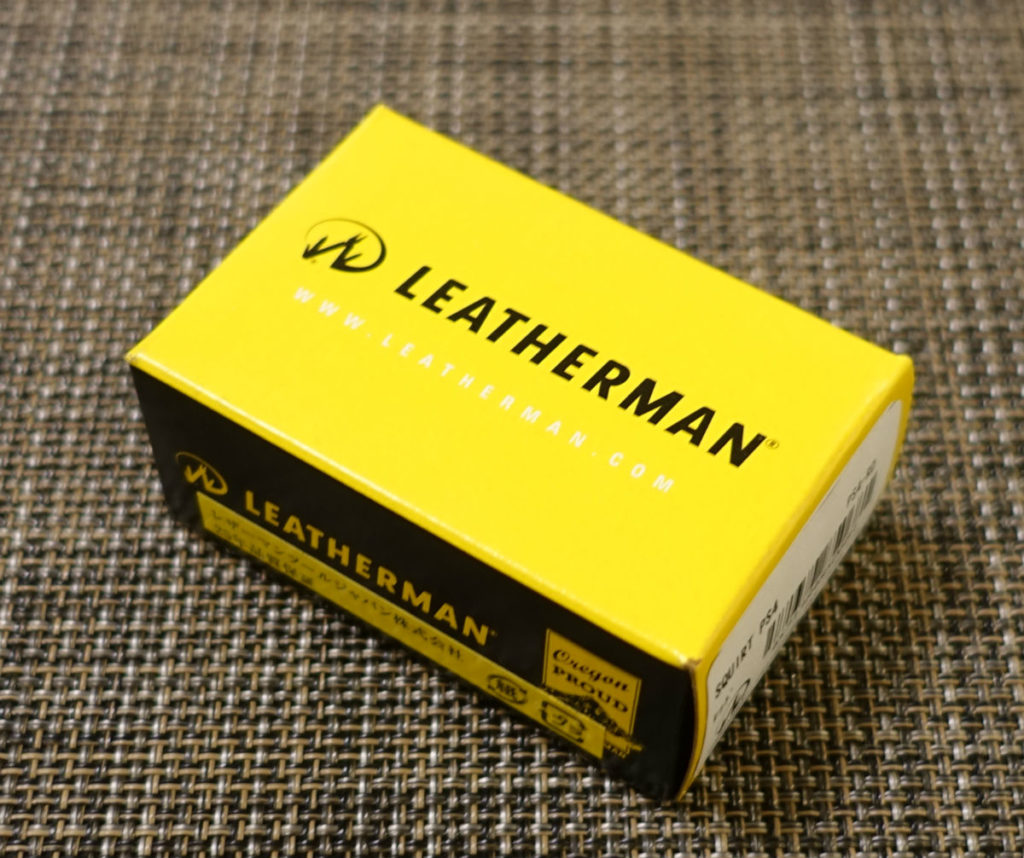 LEATHERMAN JUICE S2 パッケージ