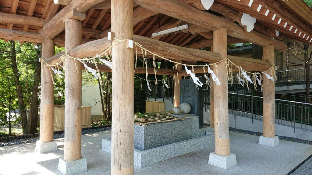 原宿 東郷神社 手水舎