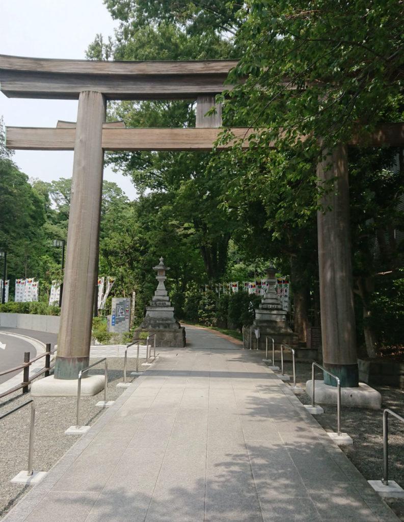 原宿 東郷神社 表参道の鳥居