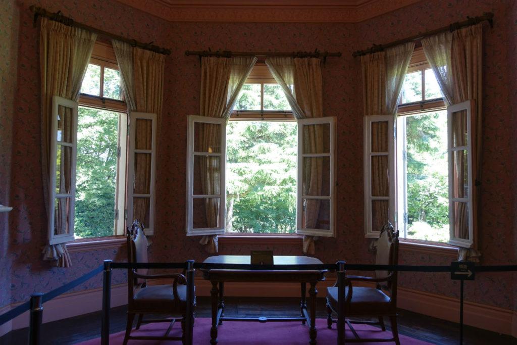 旧岩崎庭園 洋館2階 婦人客室