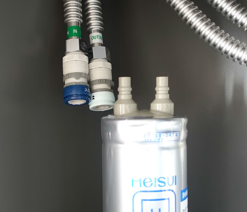 MEISUI GE-1Z フィルター 新フィルター接続