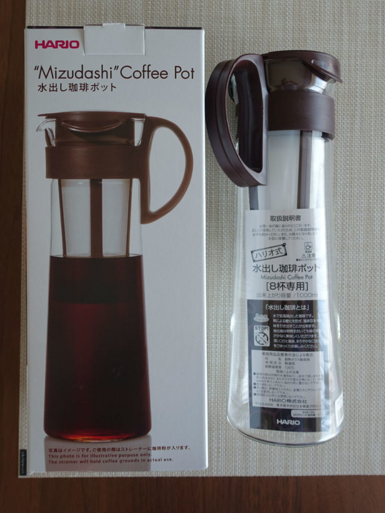 HARIO 水出し珈琲ポット MCPN-14 パッケージ