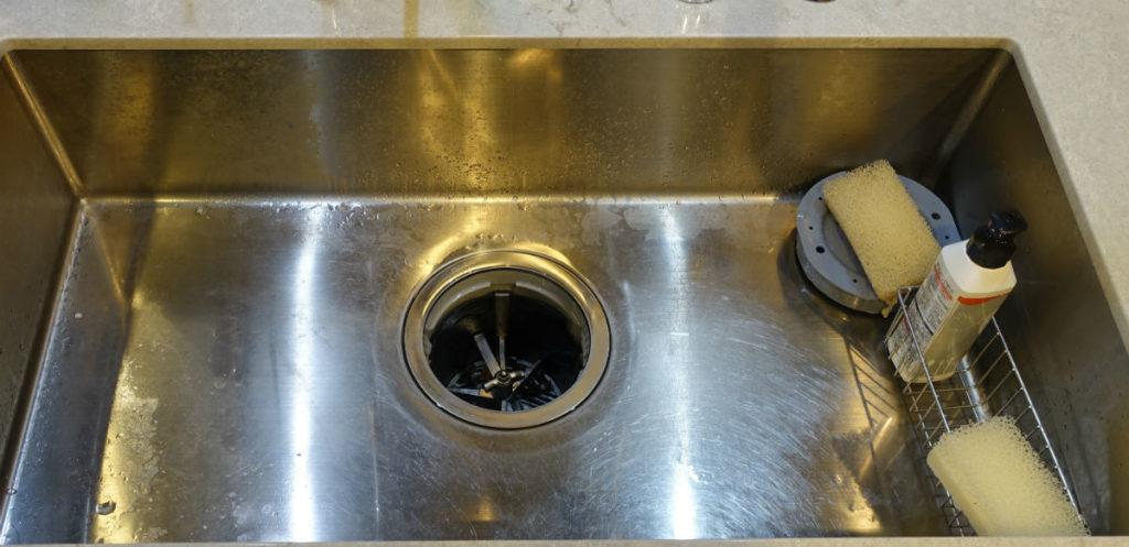WAKI ステンレスシンク用コーティング剤 施工前水洗い前