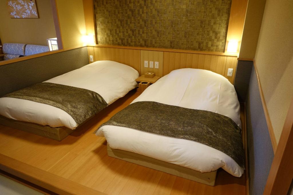 強羅雪月花 翠雲 和フォース ベッドルーム2