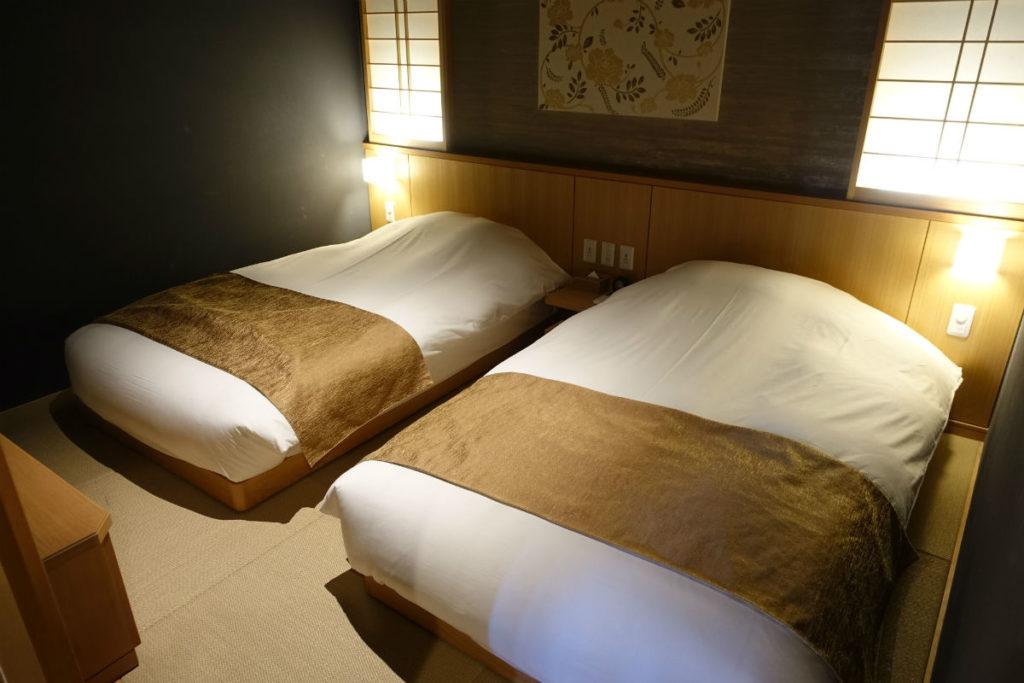 強羅雪月花 翠雲 和フォース ベッドルーム1
