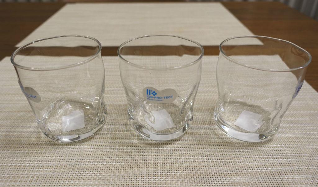 石塚硝子株式会社 てびねり フリーカップ ION PRO TECT 全体3ヶ
