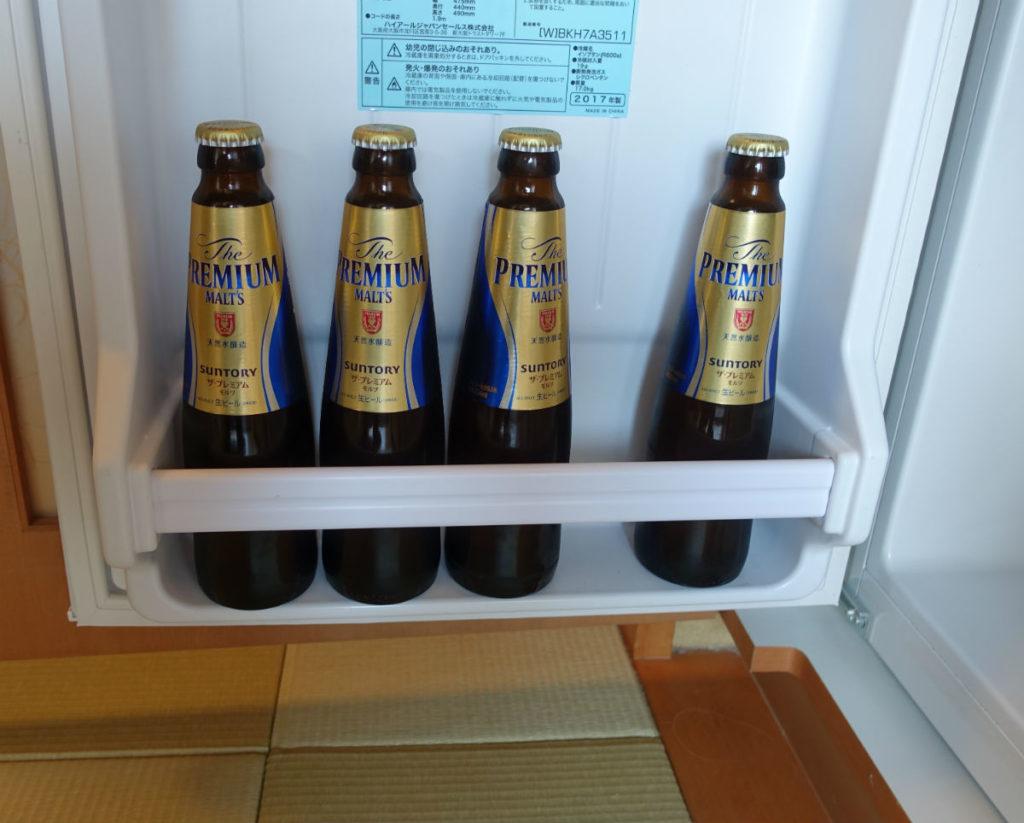 強羅雪月花 翠雲 和フォース 客室のビール 無料