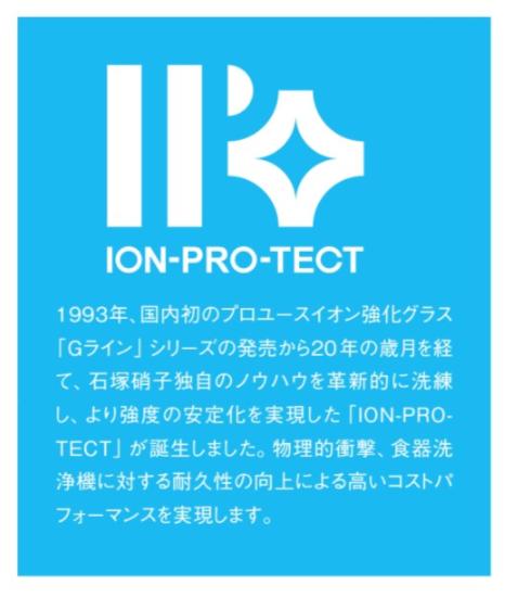 石塚硝子株式会社 IPTの解説 カタログから
