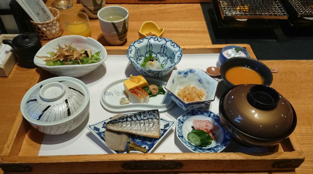 八幡野温泉 きらの里 和朝食