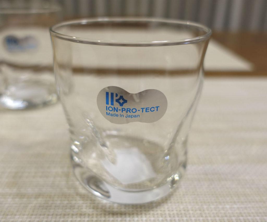 石塚硝子株式会社 てびねり フリーカップ ION PRO TECT シール