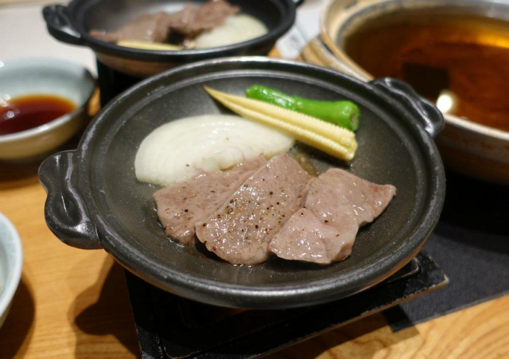 きらの里 夕食 02 オマケの陶板焼き