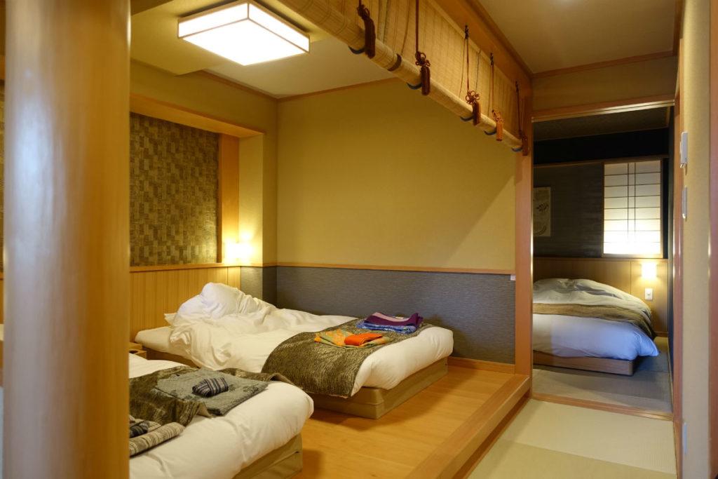 強羅雪月花 翠雲 和フォース ベッド