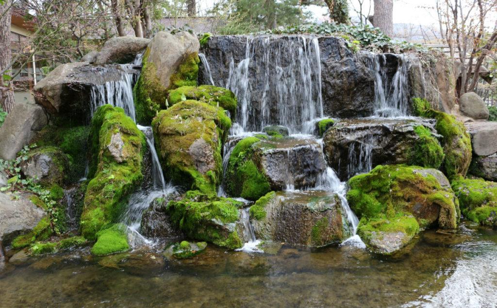 小樽 宏楽園 鴨が池の滝