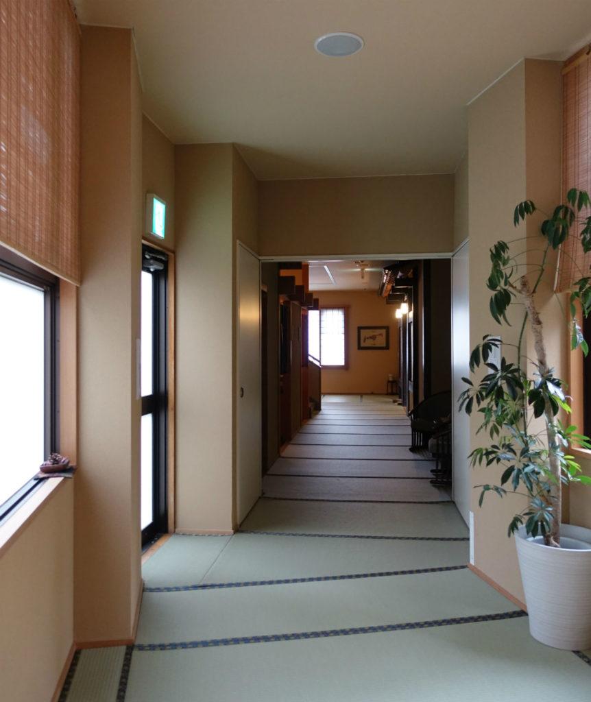 小樽 宏楽園 館内廊下